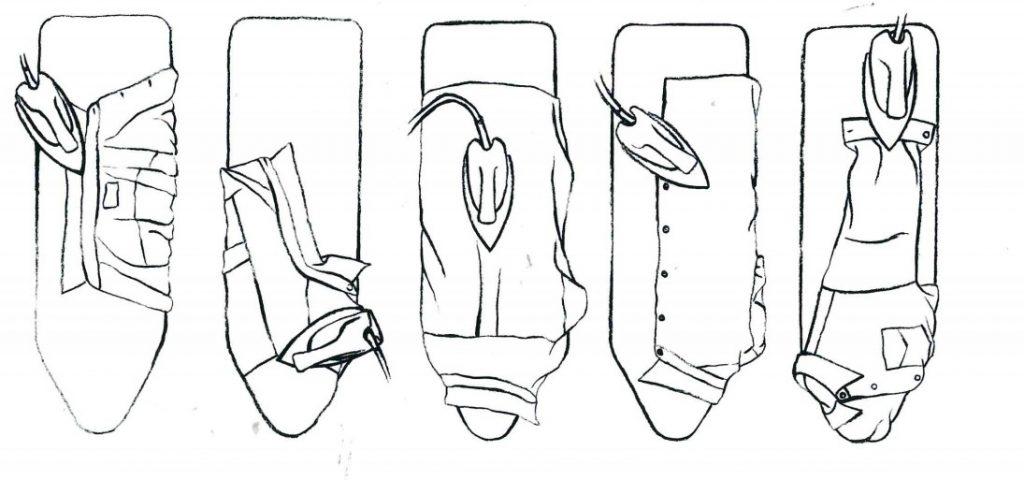 Comment repasser sa chemise la fabrique de vino - Repasser une chemise sans fer ...